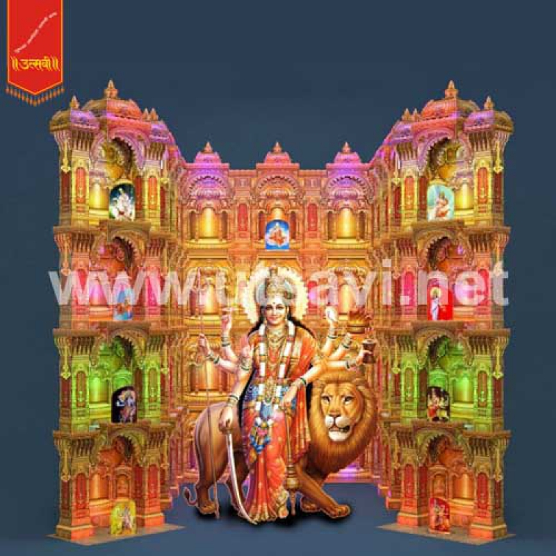 Home Decor Ideas For Navratri: NAVRATRI DECORATION SET 3