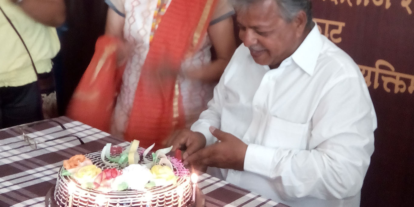 Mr. Nanasaheb Shendkar's Birthday Occassion