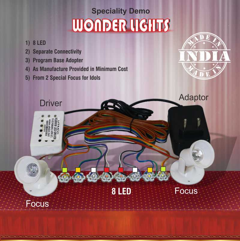 LED Box Utsavi Light