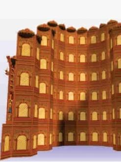 Jaipur Palace 109 Jali Set