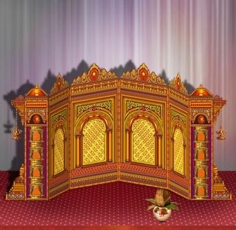 Jaipur Palace 4 Jali Set