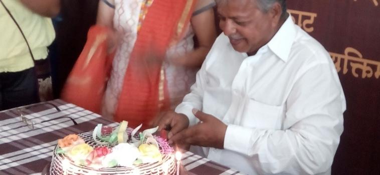 Mr. Nanasaheb Shendkar's Birthday Occassion