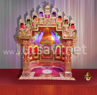 Copper Temple 11″