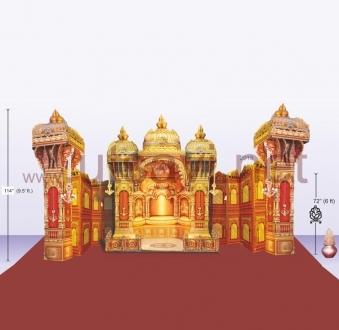 Siddhivinayak Jaipur Palace 24 Jali Set