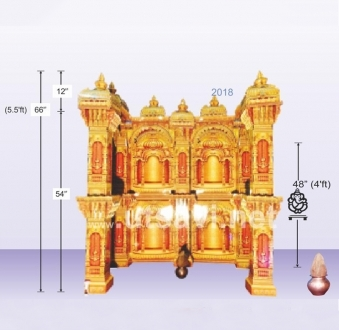 Siddhivinayak Palace Set 8 Gabhare